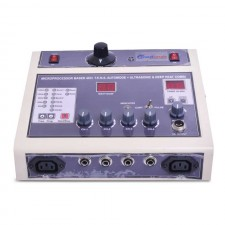 Medansh COMBINATION THERAPY 3 in 1 - TENS 4 Channel Ultrasonic and Deep Heat for Pain management