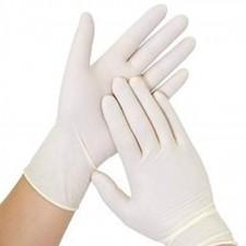 Examination Latex gloves powdered 100Pc Large