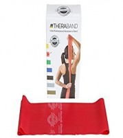 Original Theraband Resistive Band Latex free - Red - 1.5m from Theraband USA