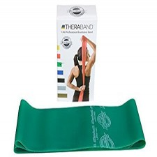Original Theraband Green Latex Free Resistive Band from Theraband USA