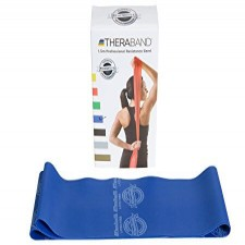 Original Theraband Resistive Band Latex free - Blue - 1.5m from Theraband USA