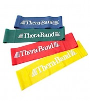 Theraband Loop Band Combo Yellow, Red, Green and Blue