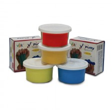 Combo of Premium Theraputty Yellow,Red,Green and Blue