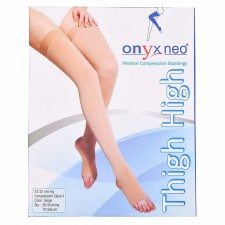 Onyx Neo Medical Compression Stockings Thigh High for Varicose Veins