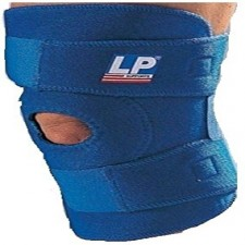 LP Open Patella Knee Support Royal Blue 758 - Free Size