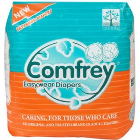 Comfrey Adult Easy wear Diaper Pant type Large 30 to 39 inch