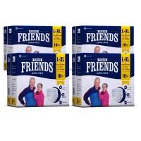 Friends Premium Diaper Pants - Pack of 4 - for Men and Women