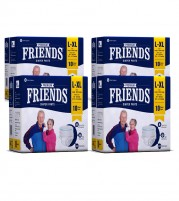 Friends Premium Diaper Pants - Pack of 4 - for Men and Women