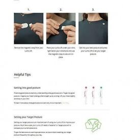 Lumo Lift - Posture and Activity Tracker