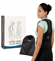 Medansh Adjustable Posture Corrector with Magnetic Therapy for Neck  Back for Men and Women