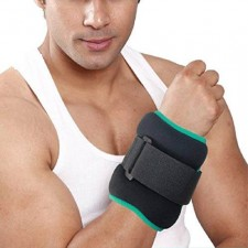 Tynor Weight Cuff - 1 Kg Adjustable wrap around weight cuff for improving muscle strength muscle tone and stamina